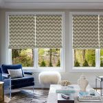 Photo-Of-Colored-Accents-In-Your-Home-With-Striped-Roman-Shades