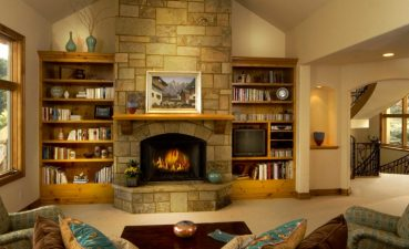 Photo Of Fireplaces With Cast Stones For Inside Your House