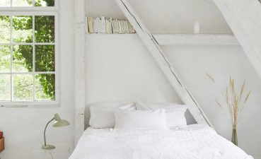 Photo Of Create Bright Colors In A Warm White Bedroom