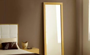Photo Of Decorating A Bedroom With A New Wall Mirror