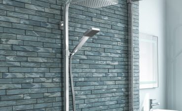 Photo Of Shower Panel Part Of Bathroom Decoration