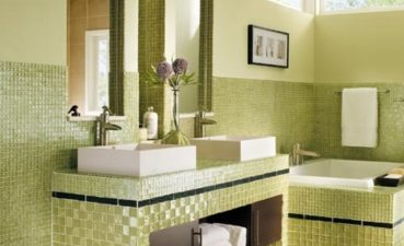 Adorable Colorful Bathrooms