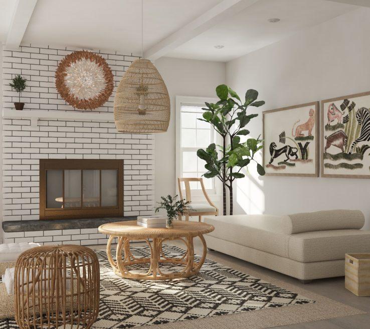 Adorable Living Room Furniture Design
