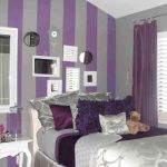 Adorable Purple Wall Decor For Bedrooms Of Ideas With Enchanting Living Room