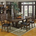 Adorable What To Put In The Middle Of Your Kitchen Table Of Castlegate Wood Rectangular Dining Distressed Medium Brown
