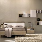 Alluring Bedroom Wall Decor Of Ing Patterned Fabric And Styrofoam Then
