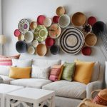 Alluring Large Wall Decor Ideas For Living Room Of Image Of Creative
