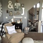 Alluring Wall Decor For Living Room Of Charming Rustic Ideas