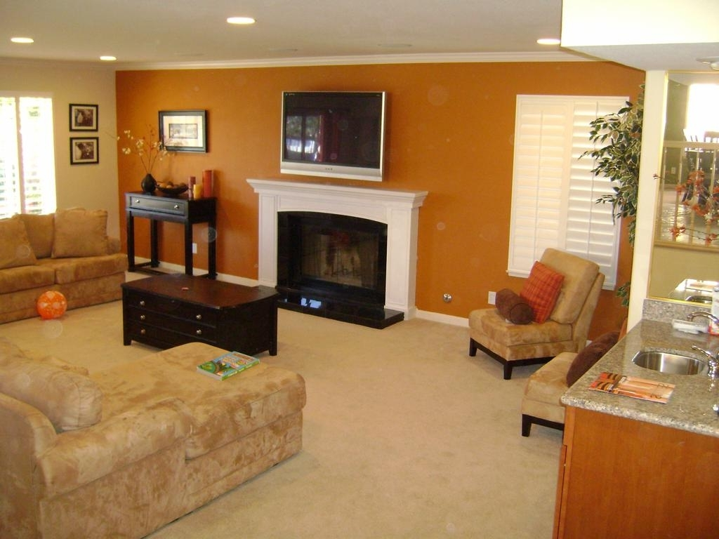 Amazing Accent Wall Colors Living Room