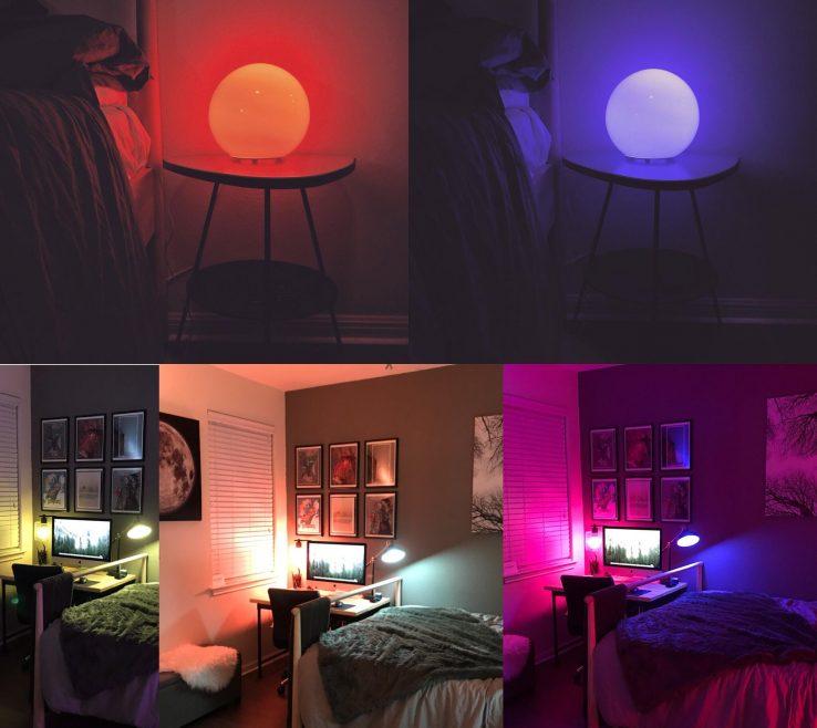 Amazing Bedroom Setup Of New W Hue Lights