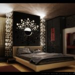 Amazing Bedroom Wall Decorations Of Image Of Modern Contemporary Decor Fine Modern