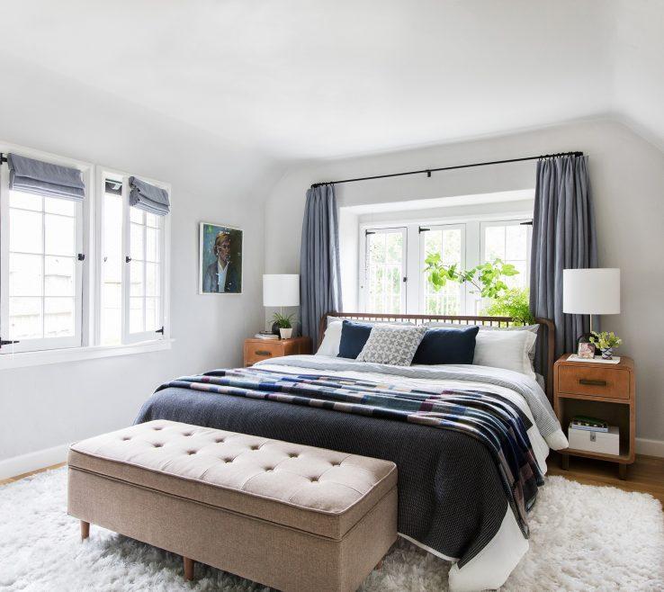 Amazing Grey Bedroom Of Emily Henderson Colour Scheme Ideas