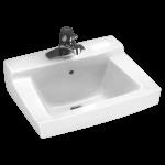 Amazing Wall Hung Bathroom Sink