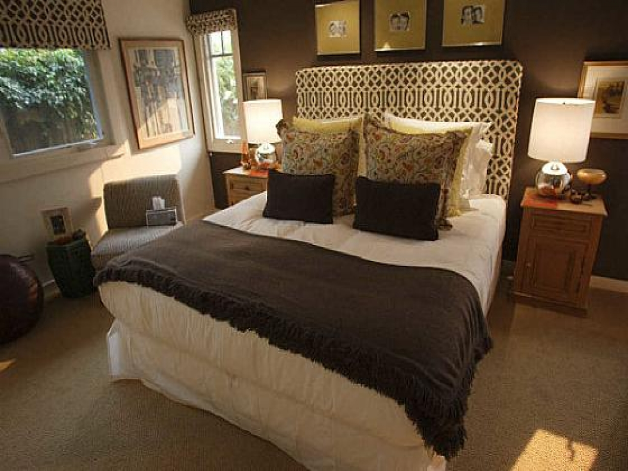 Artistic Brown Bedroom Walls Of Ideas Chocolate Fortable Ideas
