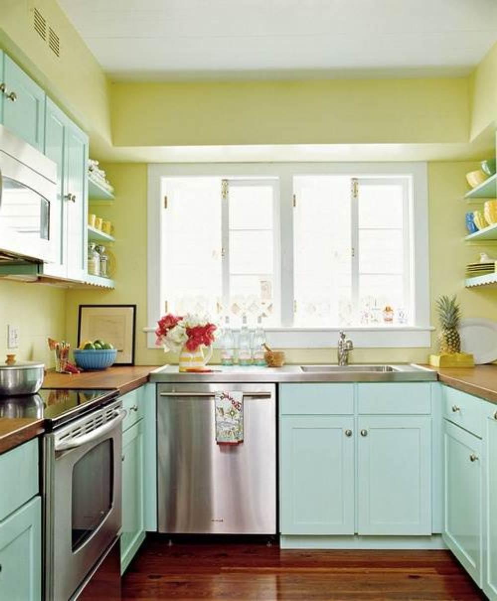 Artistic Kitchen Paint Colors Of Retro