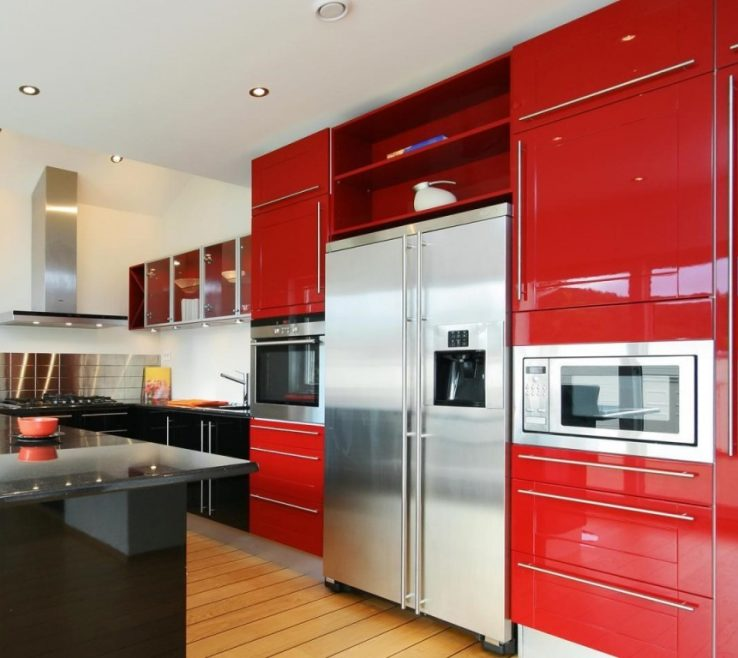 Artistic Modern Kitchen S Of Varnished