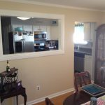 Artistic Opening A Load Bearing Wall Between Kitchen And Living Room Of Picture Of Pass Through