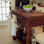 Artistic What To Put In The Middle Of Your Kitchen Table Of How Build A Rustic Island