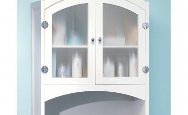 Astonishing Bathroom Wall S White Of White Arched Glass