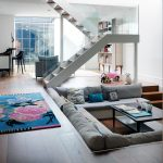 Astonishing Living Room Without Sofa Of Modern Open Plan With Sunken