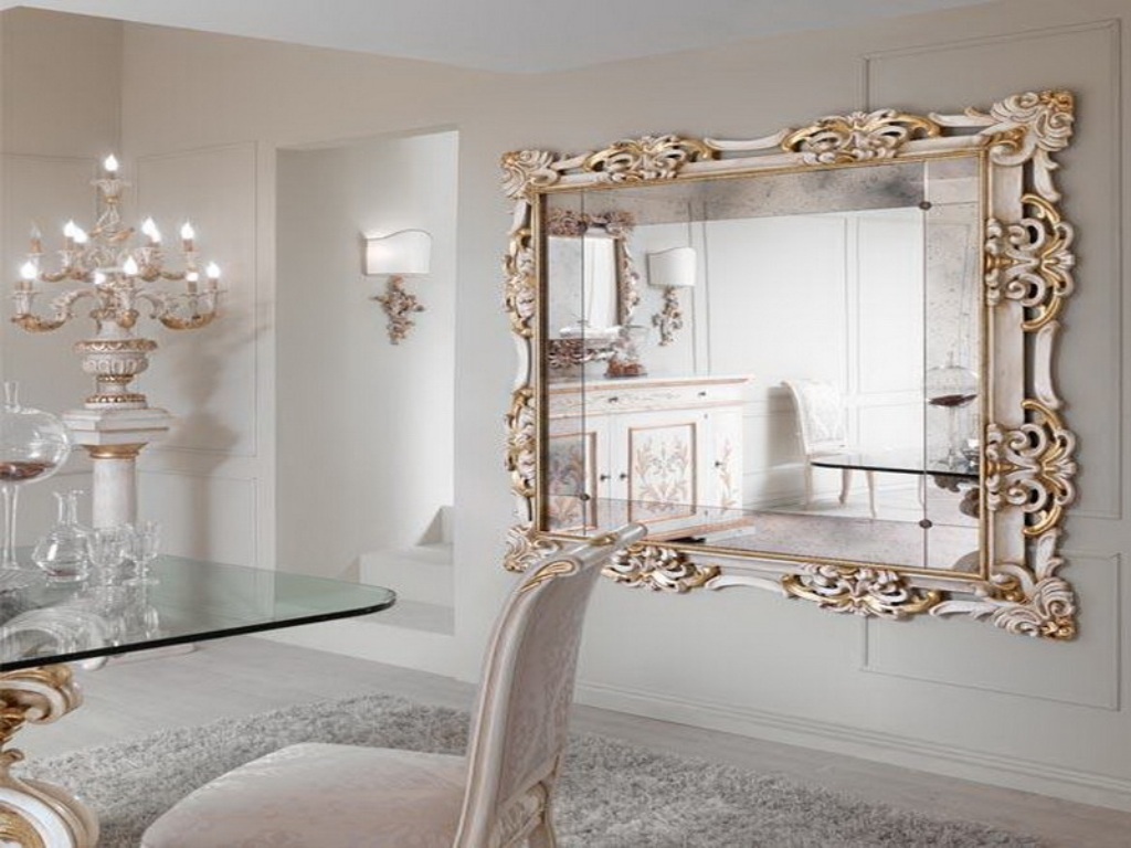 Astonishing Mirror For Living Room Wall Of Decorative Large