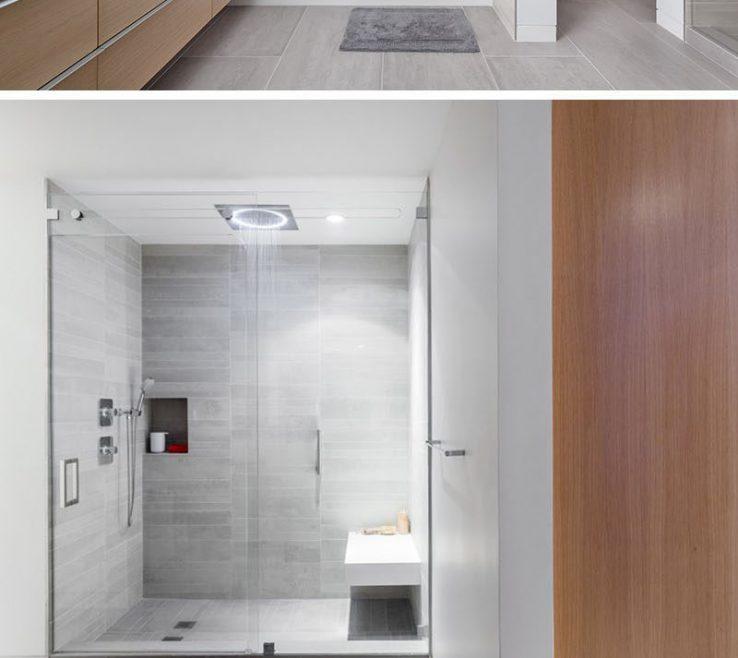 Astounding Bathroom Tile Ideas Of Use Large Tiles On The Floor