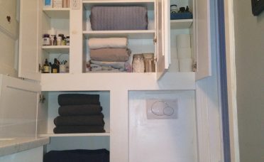 Astounding Bathroom Wall Storage Of Furniture White Wooden Floating With Racks