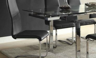 Astounding Mix And Match Dining Chairs Of Coaster Andamp Chair Black