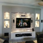 Astounding Picture Wall Ideas For Living Room Of Feature Superbealing Innovacia³n Tv Unit My Own