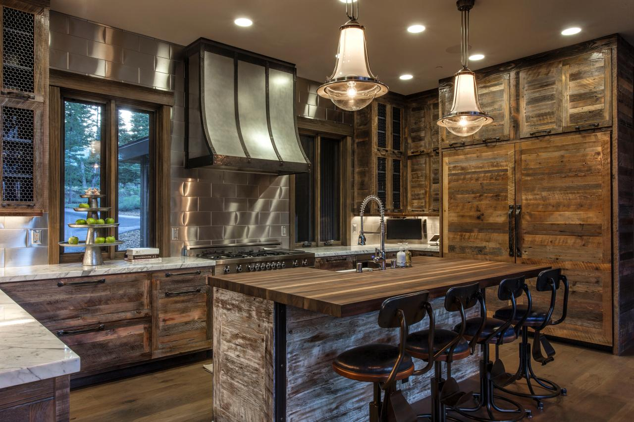 Rustic Kitchen Pictures Acnn Decor