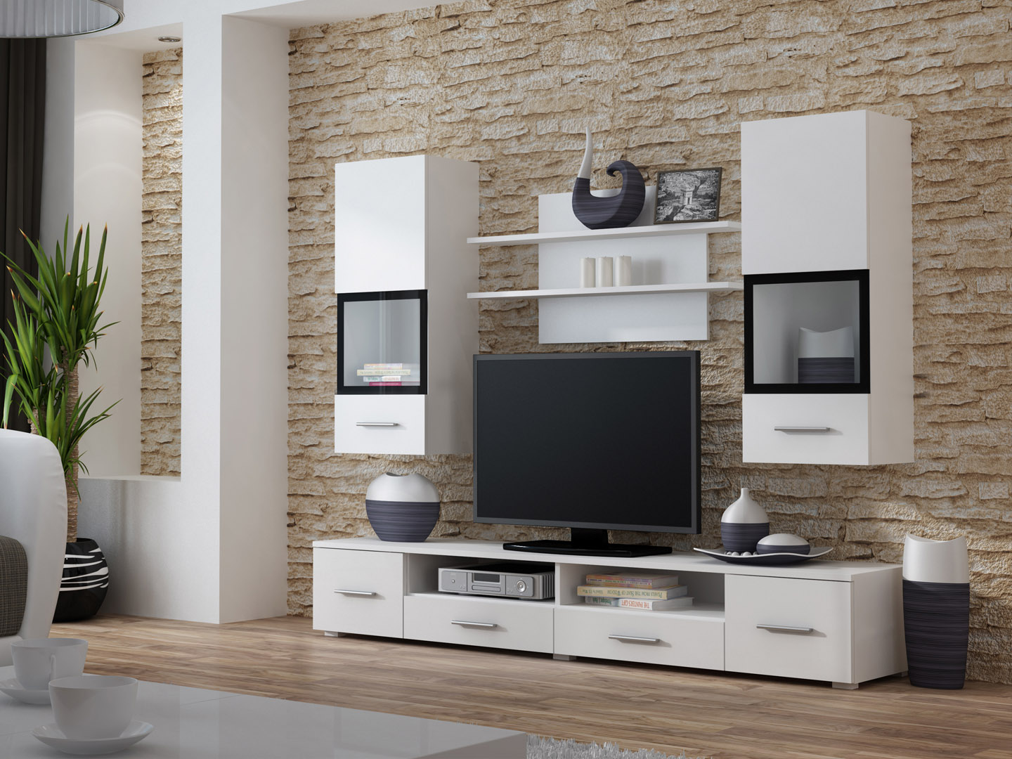 Astounding Wall Units For Living Room