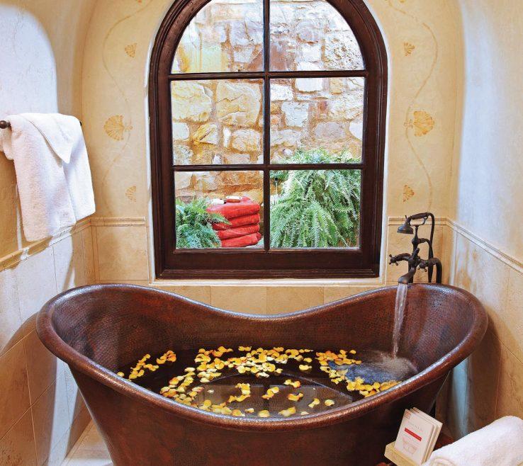 Attractive Bathroom Tub Ideas Of Copper Bathtub Design