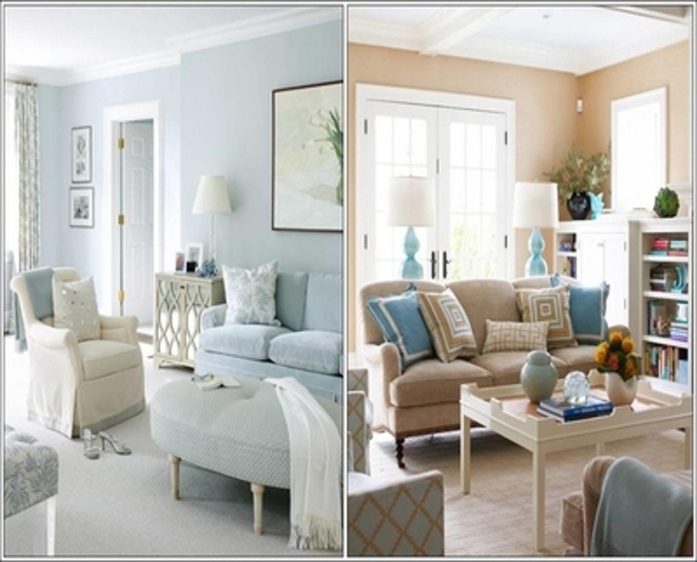 Living Room Light Blue Walls Homedecorations