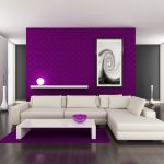 Attractive Purple Wall Decor For Bedrooms Of Modern Home Painting Ideas Homes Alternative Colors