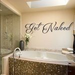 Awesome Bathroom Wall Decals Of Decal Ideas For For Walls