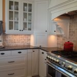 Awesome Kitchens With Black S Of Picture Of Kitchen Travertine Backsplash White S