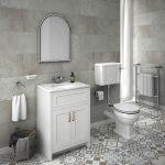 Bathroom Tile Ideas Of Patterned Floor Small