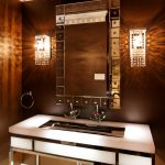 Bathroom Wall Sconce Lighting Of Sconces Black For Your Home Get Mounted