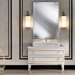 Bathroom Wall Sconces Of Prepossessing Glass Design Ideas