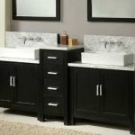 Bathroom Wall Vanity Of Vanities Built For Mounted Faucets Homethangsreview