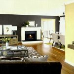 Beautiful Accent Wall Living Room Of Ideas Magnificent Rooms With Black Furniture Small
