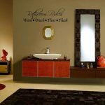 Beautiful Bathroom Wall Decals Of Get Quotations Rules Wall Decal widehigh Black