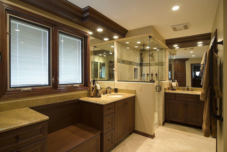 Beautiful Master Bathroom Ideas Photo Gallery Of Lighting Acnn Decor