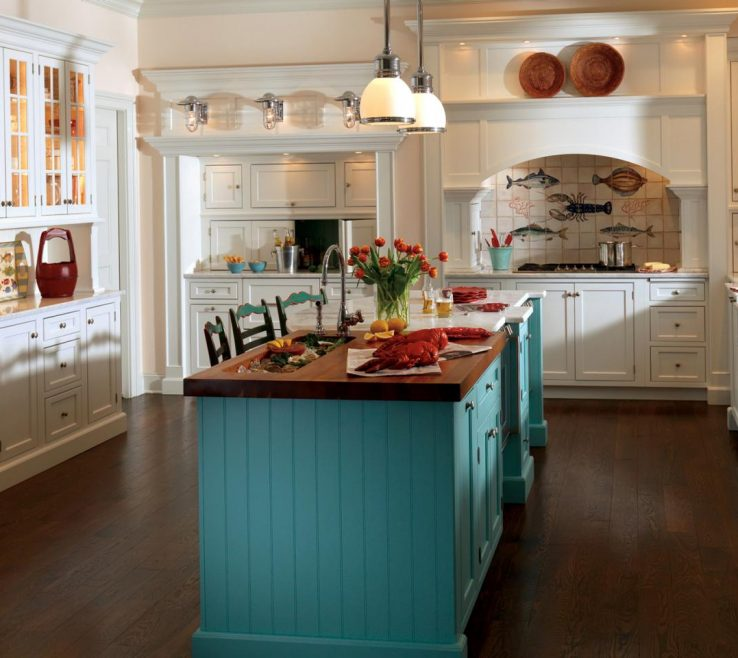Beautiful Painted Kitchen S Of Bands Of Color