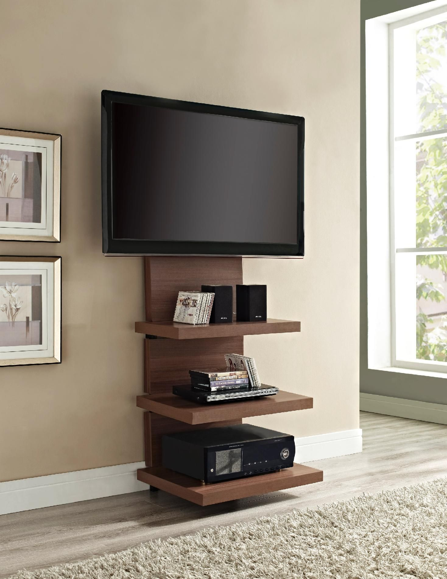 Bedroom Tv Wall Mount Of Engaging Ideas On Chic And Modern