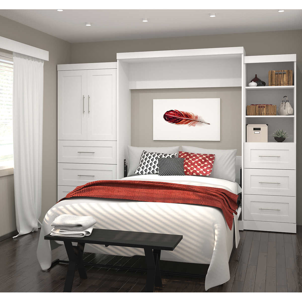 Bedroom Wall Storage Units Of Unit Furniture Ideas Mesmerizing