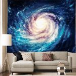 Bedroom Wall Tapestry Of Hanging Galaxy Sky Space d Milky Way