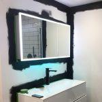 Black Bathroom Walls Of Little Greene Pany In Luxury Makeover