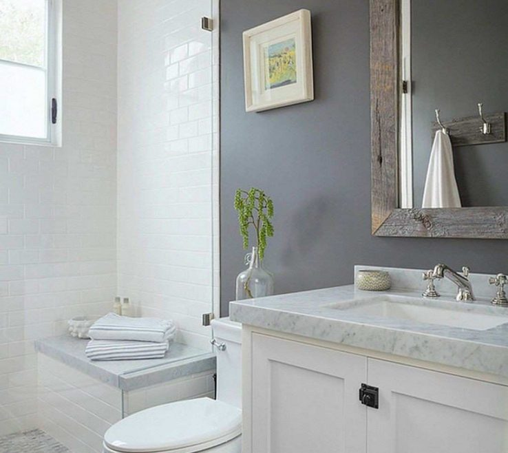 Brilliant Bathroom Makeovers Of On A Tight Budget Lovely Cool