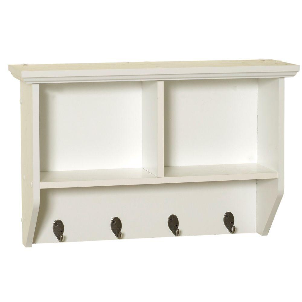 Brilliant Bathroom Wall Shelf Of Collette In W Cubby
